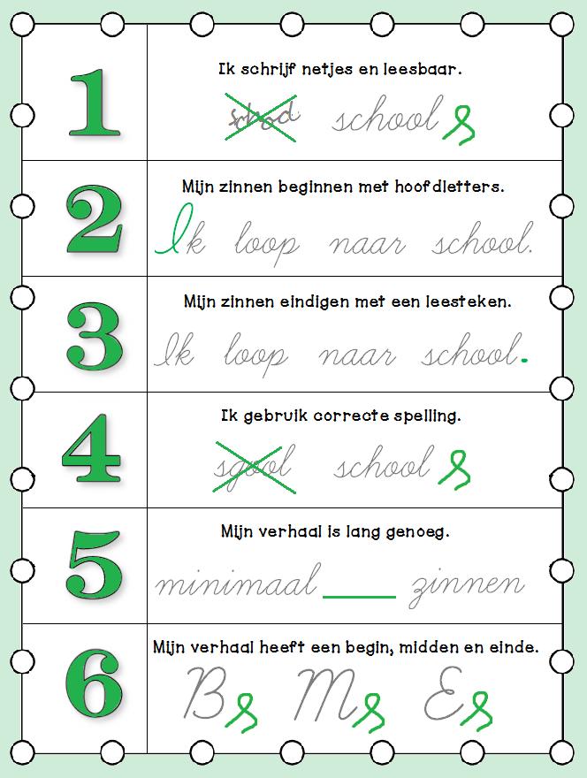 Welp Lessen van Lisa - Schrijven NL-99