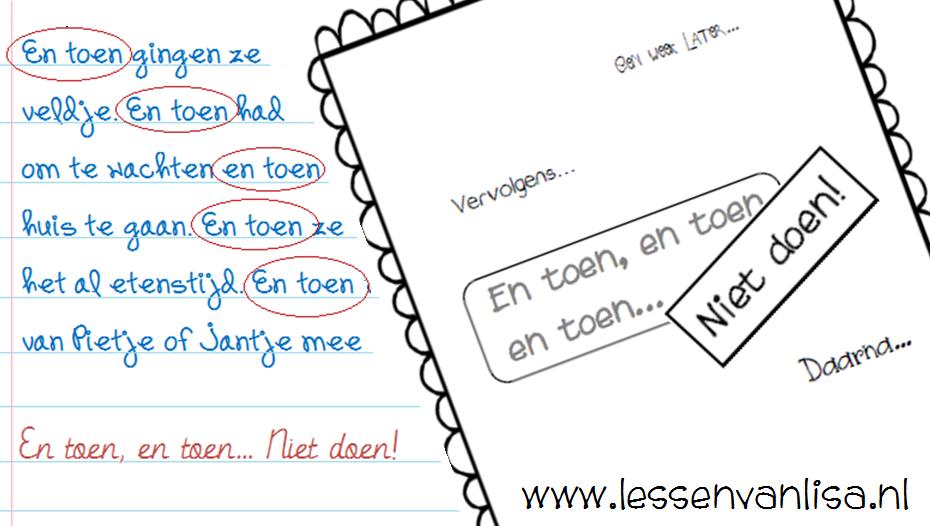 Beroemd Lessen van Lisa - Schrijven @NI57