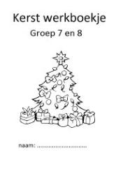 Kleurplaten Kerst Groep 5.Kerst