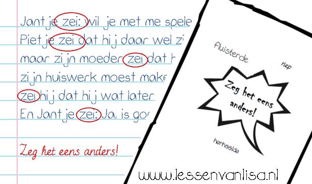 New Lessen van Lisa - Schrijven @ZQ24