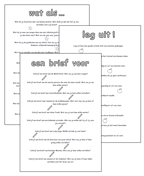 Iets Nieuws Lessen van Lisa - Schrijven &GY76
