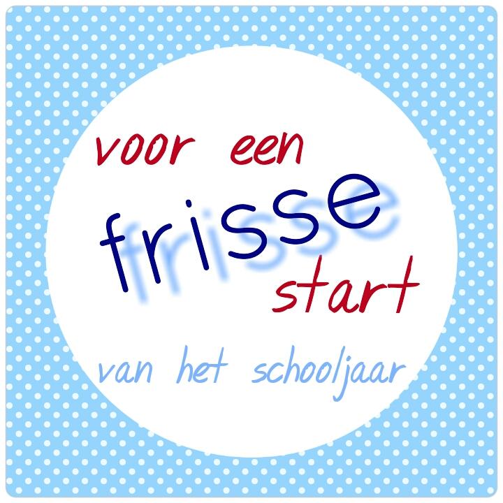 New Begin schooljaar &SS91